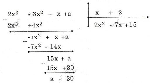 Bài tập môn Toán lớp 8