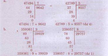 Giải bài tập trang 77, 78 SGK Toán 4