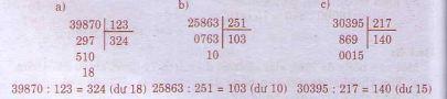 Giải bài tập trang 90, 91 SGK Toán 4