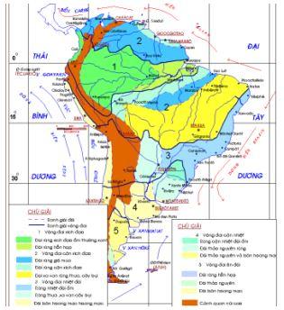 Câu hỏi trắc nghiệm và bài tập Địa lý lớp 11: Một số vấn đề của Mỹ La tinh