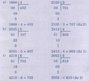 Giải bài tập trang 120 SGK Toán 3