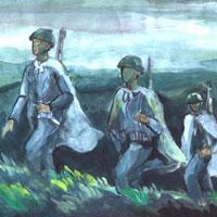 Phân tích hình tượng người lính trong bài thơ Tây Tiến của Quang Dũng