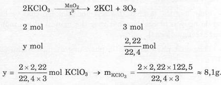 Giải bài tập trang 100, 101 SGK Hóa lớp 8