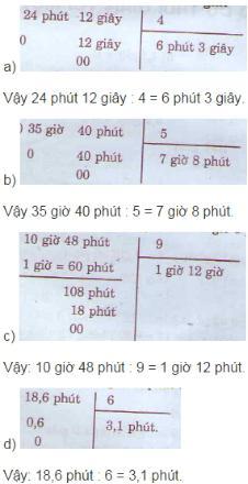 Giải bài tập trang 136 SGK Toán 5
