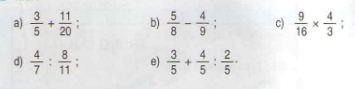 Giải bài tập trang 153 SGK Toán 4