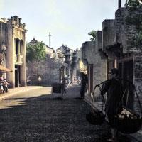 Phân tích cảnh phố huyện ngày tàn trong phần đầu truyện ngắn Hai đứa trẻ của Thạch Lam