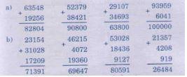 Luyện tập Phép cộng các số trong phạm vi 100 000