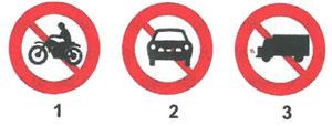 Đề thi bằng lái xe A1 - Đề số 1