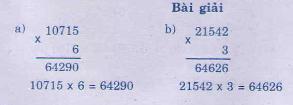 Giải bài tập trang 165, 166 SGK Toán 3