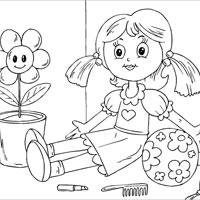 Tranh tập tô màu cho bé 3 tuổi học mẫu giáo