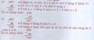Giải bài tập trang 177 SGK Toán 4
