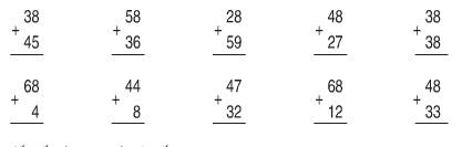 Lời giải hay bài tập SGK Toán 2 trang 21