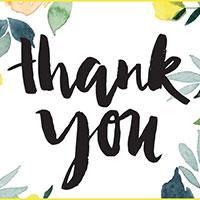 Bài phát biểu cảm ơn nhà tài trợ