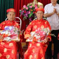 Bài phát biểu của lãnh đạo tại lễ mừng thọ người cao tuổi