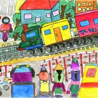 Giáo án An toàn giao thông lớp 5 - Bài 6: An toàn giao thông đường sắt
