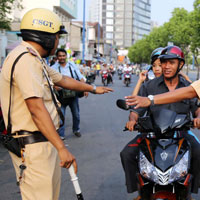Tổng hợp thẩm quyền xử phạt giao thông của các lực lượng công an