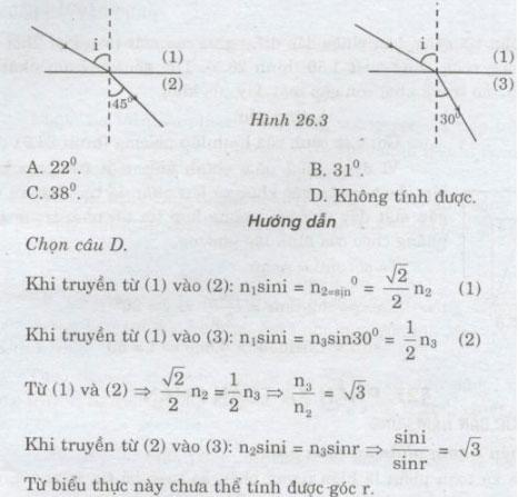 Giải bài tập Vật lý lớp 11