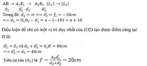 Bài tập môn Vật lý lớp 11 có đáp án