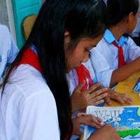 Bài tập Mỹ thuật lớp 6: Vẽ tranh đề tài học tập