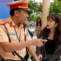 Các lỗi vi phạm giao thông có thể nộp phạt tại chỗ và mức phạt cụ thể