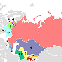 Giải bài tập SBT Lịch sử lớp 12 bài 2: Liên Xô và các nước Đông Âu (1945-2000). Liên Bang Nga (1991-2000)