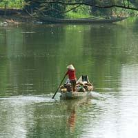 Văn mẫu lớp 5: Tả cảnh buổi chiều trên dòng sông quê em