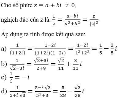Giải bài tập Toán 12 chương 4 bài 3
