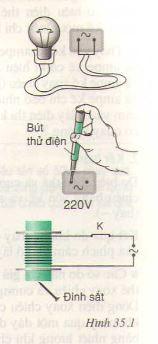 Các tác dụng của dòng điện xoay chiều - Đo cường độ và hiệu điện thế xoay chiều