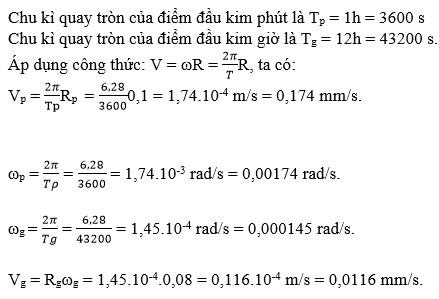 Giải bài tập Vật lý 10 bài 5