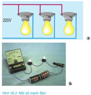 Giải bài tập SGK Công nghệ lớp 8 bài 56: Thực hành: Vẽ sơ đồ nguyên lý mạch điện