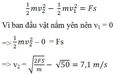Giải bài tập Vật lý 10 bài 25