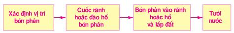 Giải bài tập SGK Công nghệ lớp 9 quyển 3 bài 14: Thực hành: Bón phân thúc cho cây ăn quả