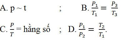 Giải bài tập Vật lý 10 bài 30