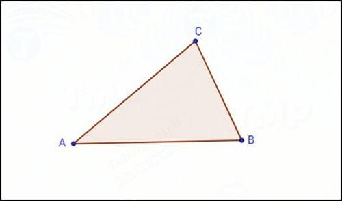 Cách sử dụng GeoGebra để vẽ hình tròn ngoại tiếp tam giác