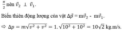 Trắc nghiệm Vật lý 10 chương 4