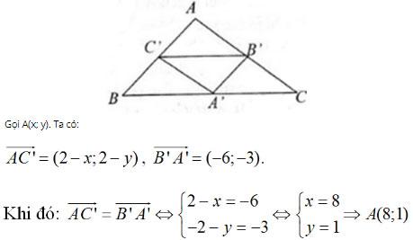 Giải bài tập Toán 10 chương 1: Hệ trục tọa độ