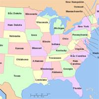 Trắc nghiệm Địa lý 11 bài 6: Hợp chủng quốc Hoa Kỳ (Tiết 3)