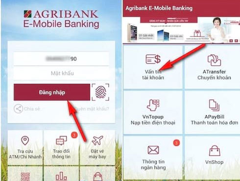 Dịch vụ Agribank E-Mobile Banking
