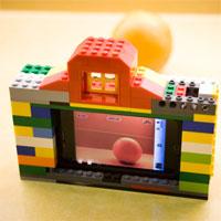 Hướng dẫn lắp ráp LEGO hình máy ảnh