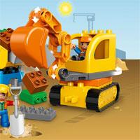 Hướng dẫn lắp ráp LEGO hình máy xúc