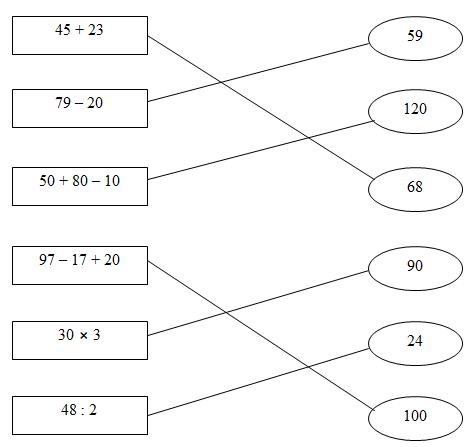 Giải vở bài tập Toán 3