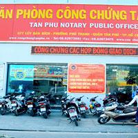 Danh sách các văn phòng công chứng tại thành phố Hồ Chí Minh