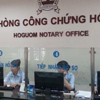Danh sách các văn phòng công chứng tư tại Hà Nội
