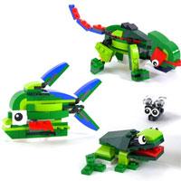 Hướng dẫn lắp ráp LEGO hình ông già Noel