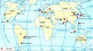bài tập địa lý 7
