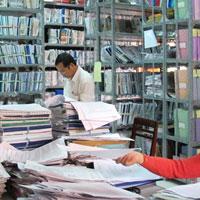 Báo cáo tổng kết công tác văn thư lưu trữ