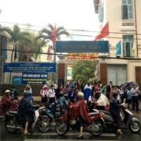 Công văn khẩn: Học sinh Sài Gòn được nghỉ học tránh bão từ sáng 25/12