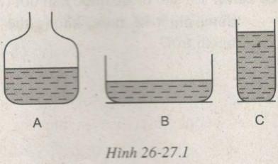 Giải bài tập SBT Vật lý lớp 6 bài 26 - 27: Sự bay hơi và sự ngưng tụ