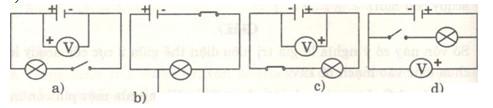 Giải bài tập SBT Vật lý lớp 7 bài 26: Hiệu điện thế giữa hai đầu dụng cụ điện
