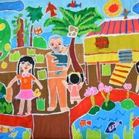Tập đọc lớp 3: Em vẽ Bác Hồ